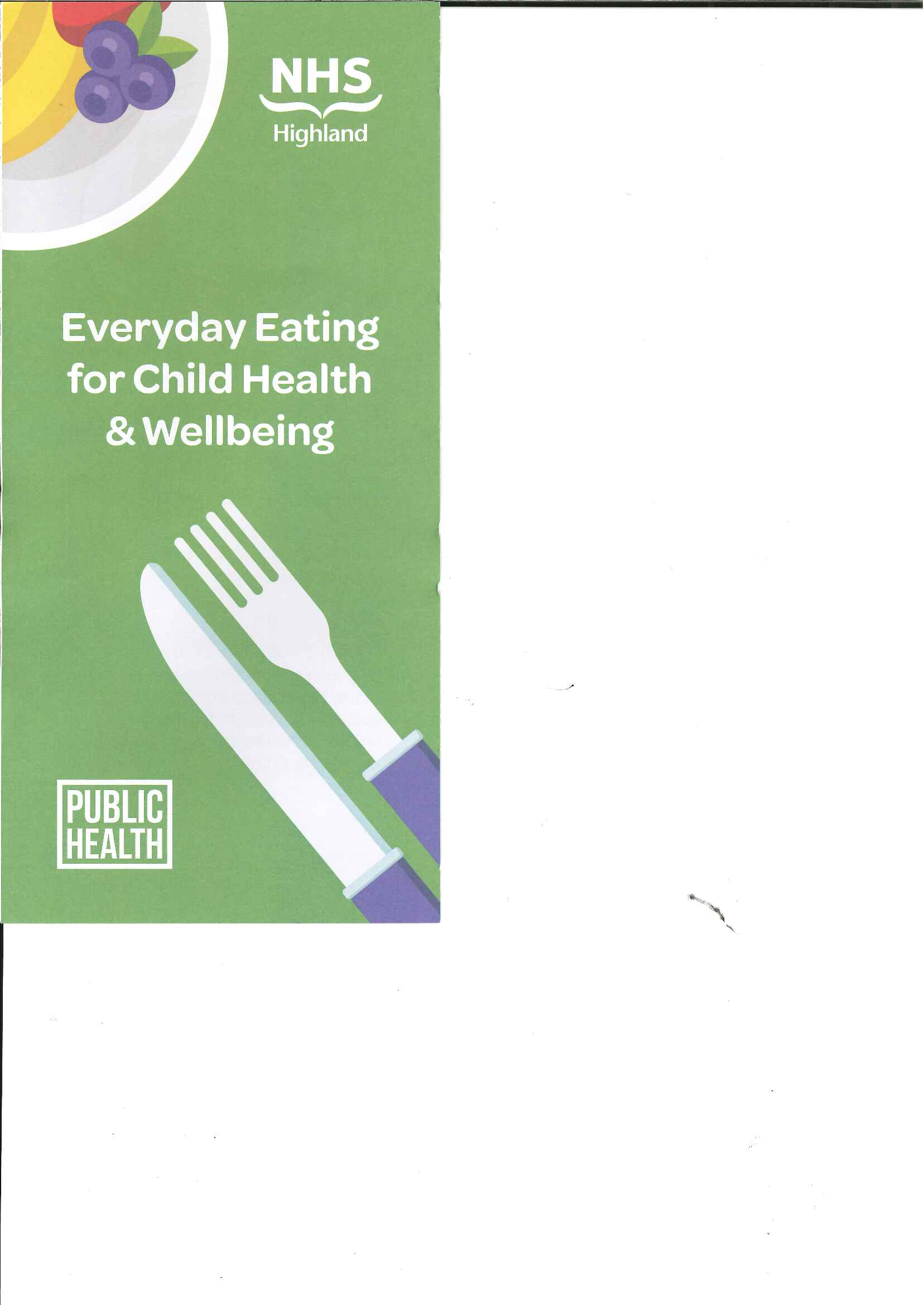 Large image for Everyday Eating for Child Health & Wellbeing