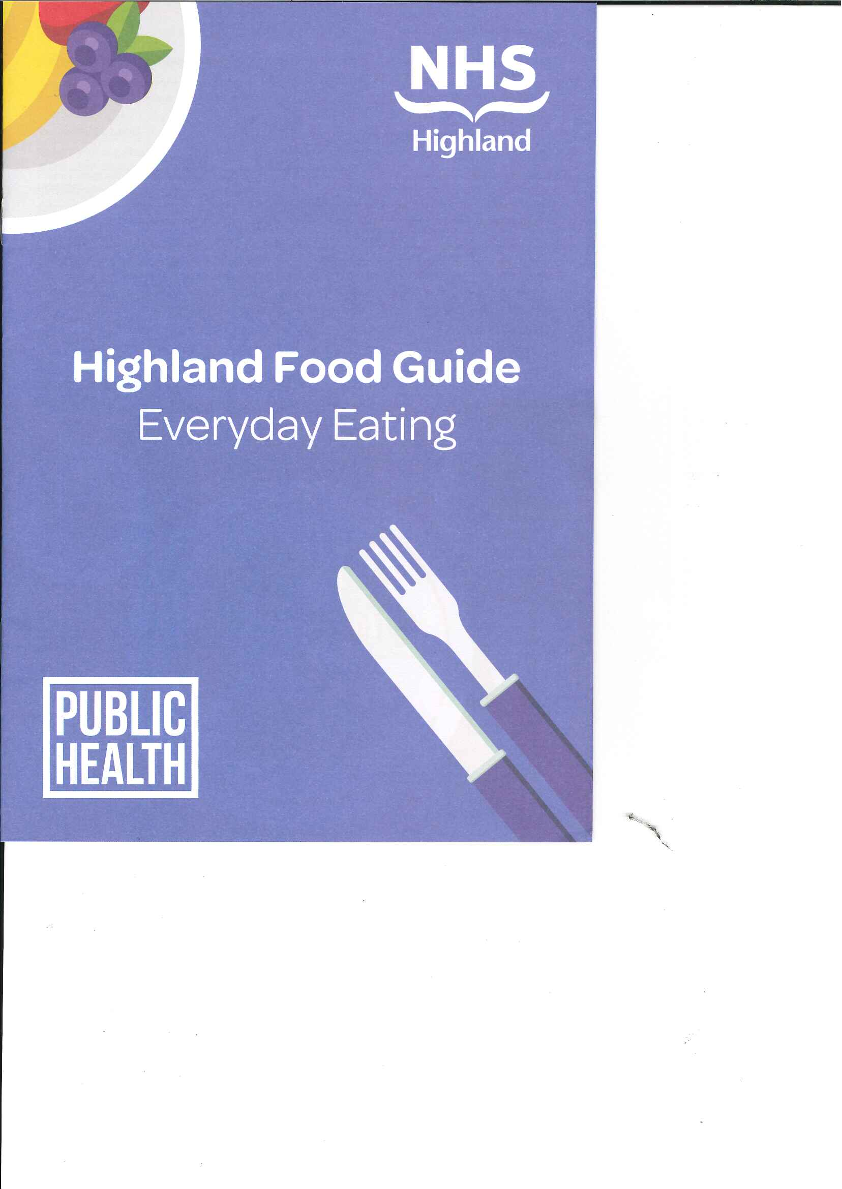 Large image for Highland Food Guide Everyday Eating