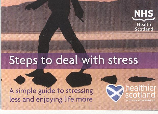 Large image for Steps to deal with stress - Z card
