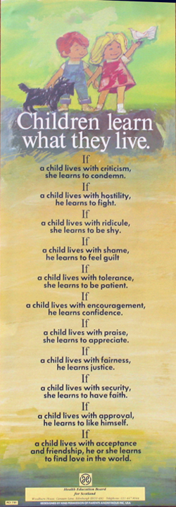 Children Learn What They Live - Rachel Harris, Dorothy Law ...